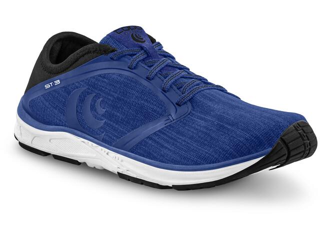 Topo Athletic ST-3 Zapatillas Running Hombre, azul/negro